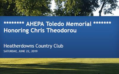 The AHEPA Toledo Memorial 2019