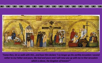 """A Walk Through Holy Week"""