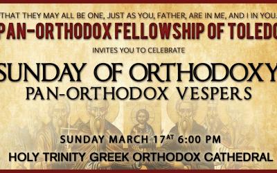 Sunday of Orthodoxy Vespers