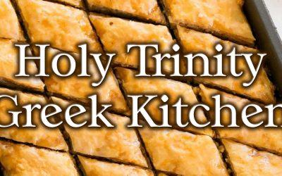 Holy Trinity Greek Kitchen Spring Orders