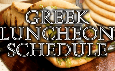 Greek Luncheons Are Back for 2018