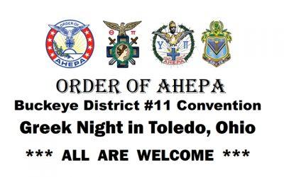 Greek Night in Toledo