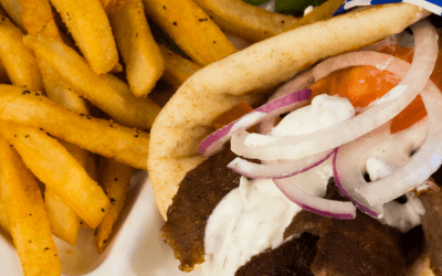 Gyros and Fries to Go