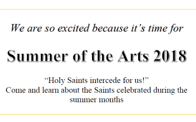 Summer of the Arts 2018