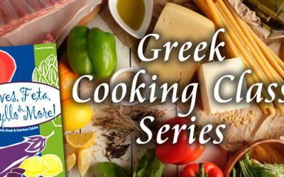 Greek Cooking Class & Dinner Series