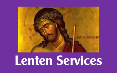 Lenten Services for 2020