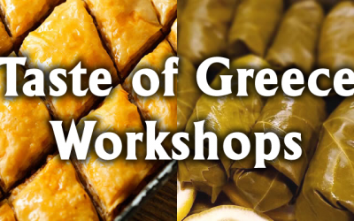 Taste of Greece Workshops